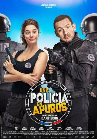 "Poster for the movie ""Una policía en apuros"""