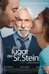 "Poster for the movie ""En lugar del Sr. Stein"""