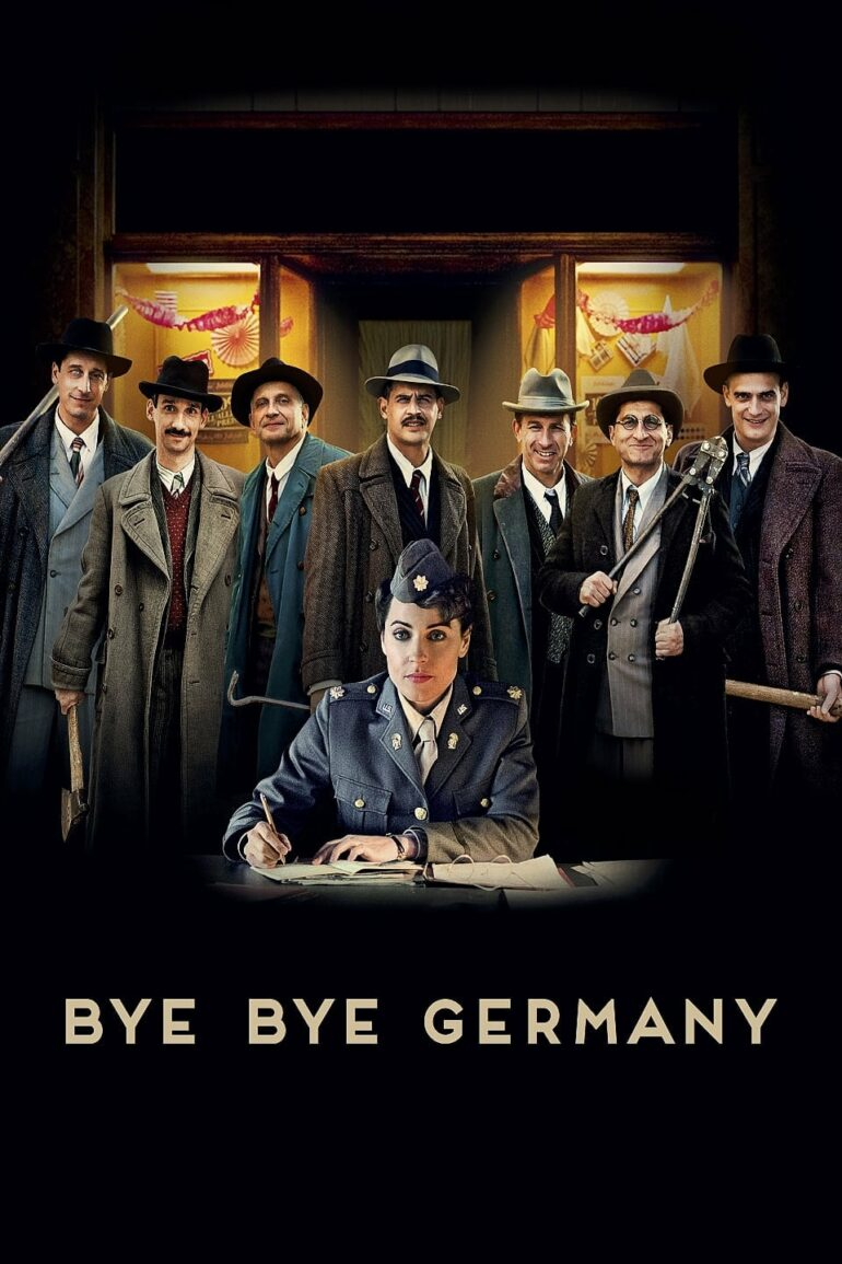 "Poster for the movie ""Bye Bye Germany"""