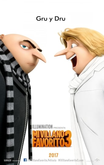 "Poster for the movie ""Gru 3. Mi villano favorito"""