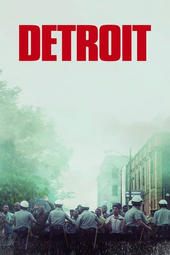 "Poster for the movie ""Detroit"""