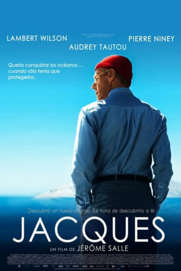 """Poster for the movie """"Jacques"""""""
