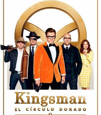 "Poster for the movie ""Kingsman: El círculo de oro"""