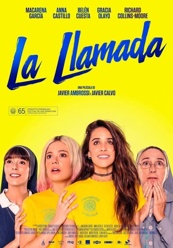 "Poster for the movie ""La llamada"""