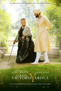 "Poster for the movie ""La Reina Victoria y Abdul"""