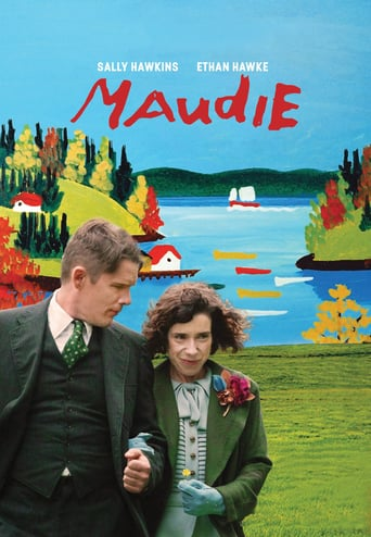 "Poster for the movie ""Maudie, el color de la vida"""