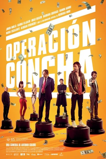 "Poster for the movie ""Operación concha"""