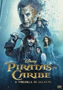 "Poster for the movie ""Piratas del Caribe: La venganza de Salazar"""