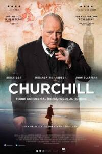 "Poster for the movie ""Churchill"""