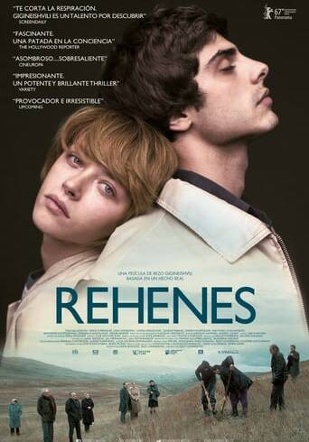 """Poster for the movie """"Rehenes"""""""