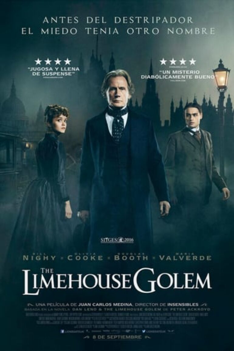 "Poster for the movie ""The Limehouse Golem"""