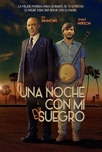 "Poster for the movie ""Una noche con mi exsuegro"""