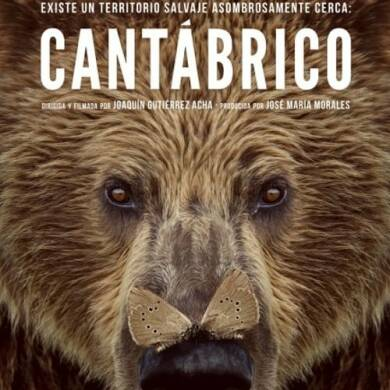 "Poster for the movie ""Cantábrico: Los dominios del oso pardo"""