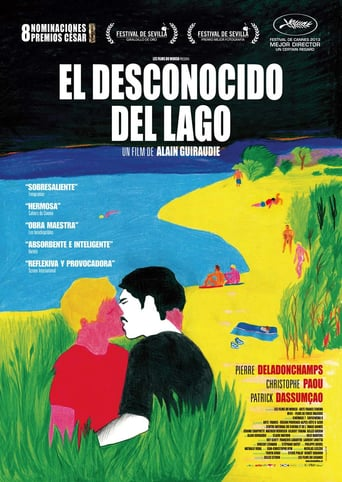 "Poster for the movie ""El desconocido del lago"""