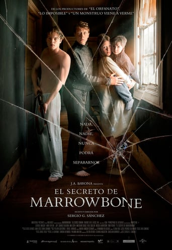 "Poster for the movie ""El secreto de Marrowbone"""