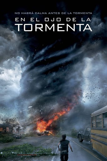 "Poster for the movie ""En el ojo de la tormenta"""