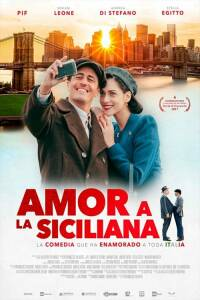 "Poster for the movie ""AMOR A LA SICILIANA"""