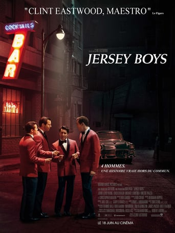 "Poster for the movie ""Jersey Boys"""