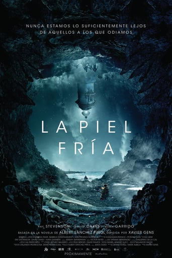 "Poster for the movie ""La piel fría"""