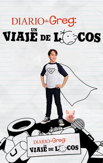 "Poster for the movie ""Diario de Greg: Carretera y manta"""