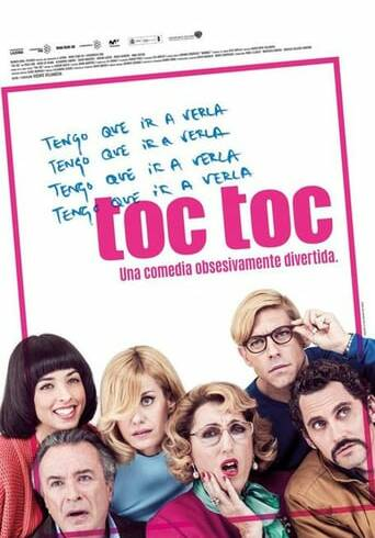 "Poster for the movie ""Toc Toc"""