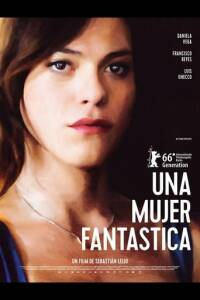 """Poster for the movie """"Una mujer fantástica"""""""