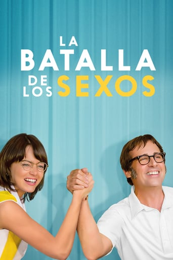 "Poster for the movie ""La batalla de los sexos"""
