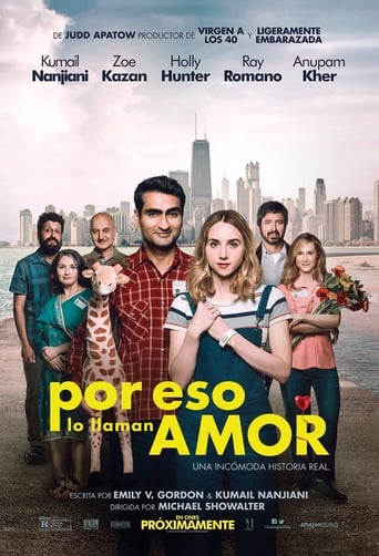 "Poster for the movie ""La gran enfermedad del amor (THE BIG SICK)"""