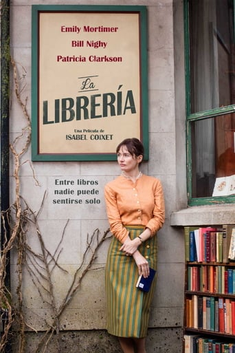 "Poster for the movie ""La librería"""