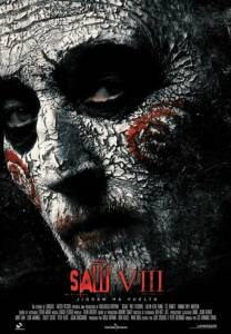 "Poster for the movie ""Saw VIII"""