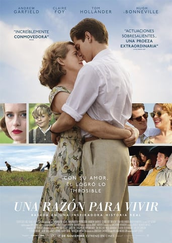 "Poster for the movie ""Una razón para vivir"""