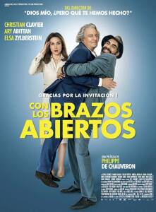 "Poster for the movie ""Con los brazos abiertos"""