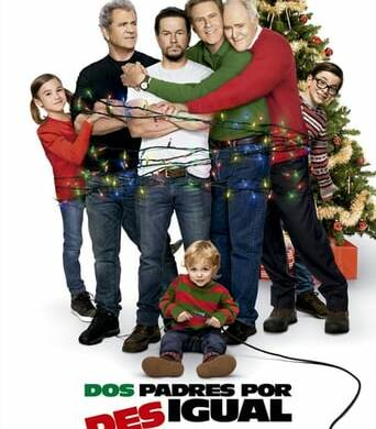"Poster for the movie ""Padres por desigual 2"""