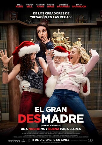 "Poster for the movie ""El Gran Desmadre (Malas Madres 2)"""