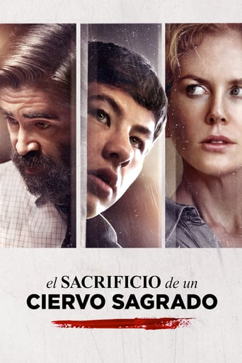 "Poster for the movie ""El Sacrificio de un ciervo sagrado"""
