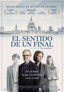 "Poster for the movie ""El sentido de un final"""
