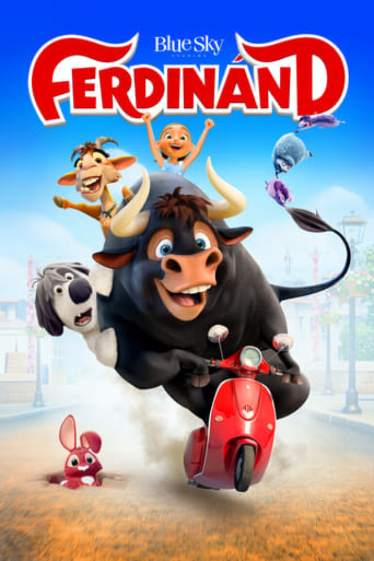 """Poster for the movie """"Ferdinand"""""""