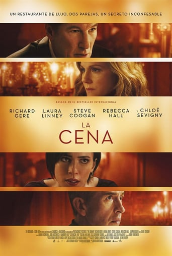 "Poster for the movie ""La cena"""