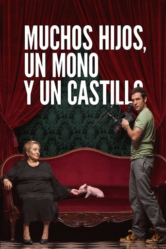 "Poster for the movie ""Muchos hijos, un mono y un castillo"""