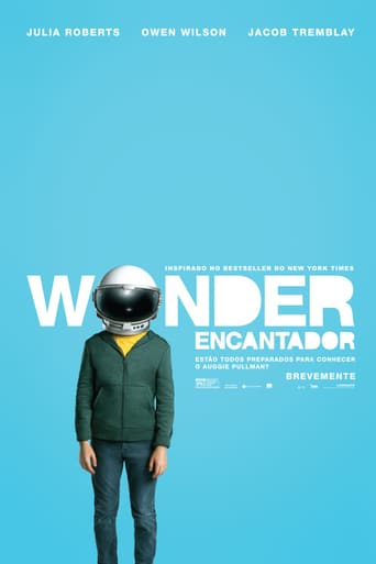 "Poster for the movie ""Wonder"""
