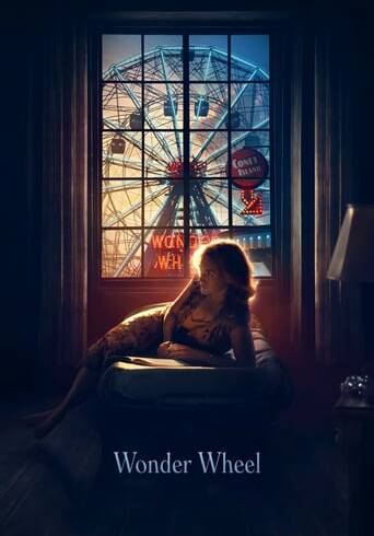 "Poster for the movie ""Wonder Wheel"""