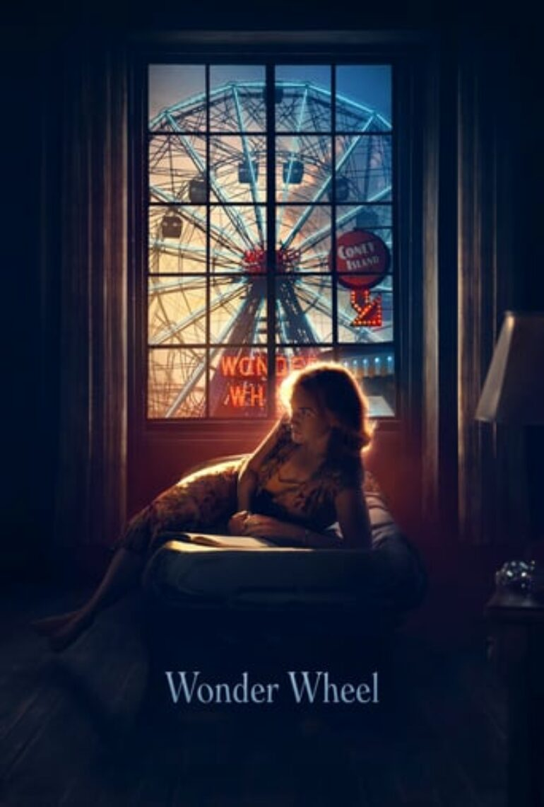 """Poster for the movie """"Wonder Wheel"""""""