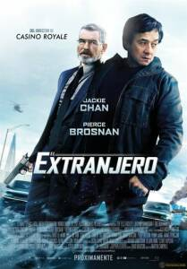 "Poster for the movie ""El extranjero"""