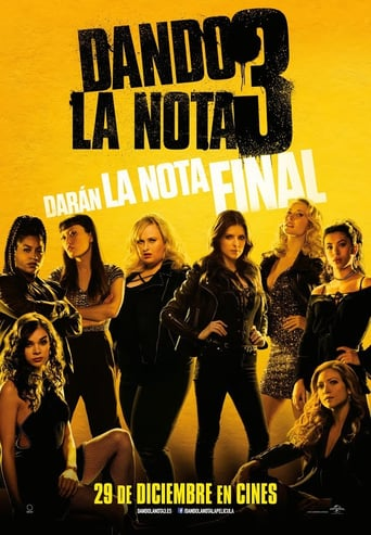 "Poster for the movie ""Dando la nota 3"""