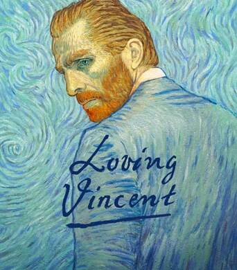 "Poster for the movie ""Loving Vincent"""