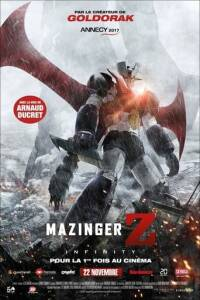 "Poster for the movie ""Mazinger Z: Infinity"""