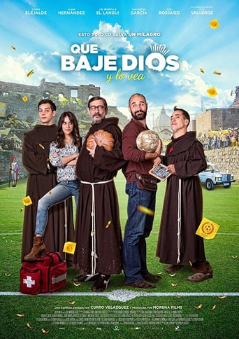 "Poster for the movie ""Que baje Dios y lo vea"""