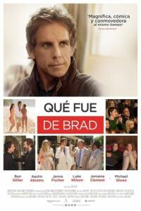 "Poster for the movie ""Qué fue de Brad"""