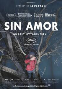 """Poster for the movie """"Sin amor"""""""