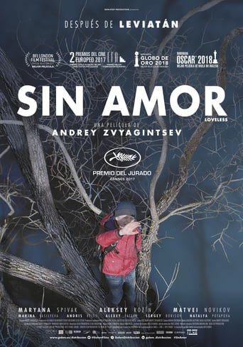 "Poster for the movie ""Sin amor"""
